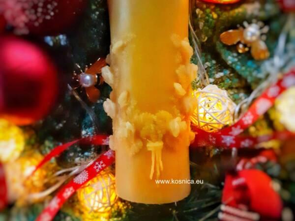 Svijeća od pčelinjeg voska je idealan poklon Bee magic