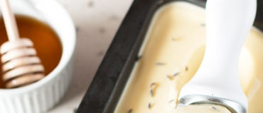 Sladoled sa lavandom i medom