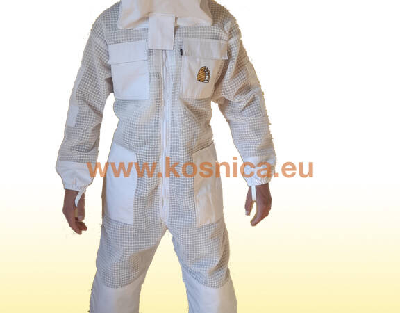 Pčelarski troslojni ventilirajući kombinezon (odijelo) SPECIJAL/DELUX.