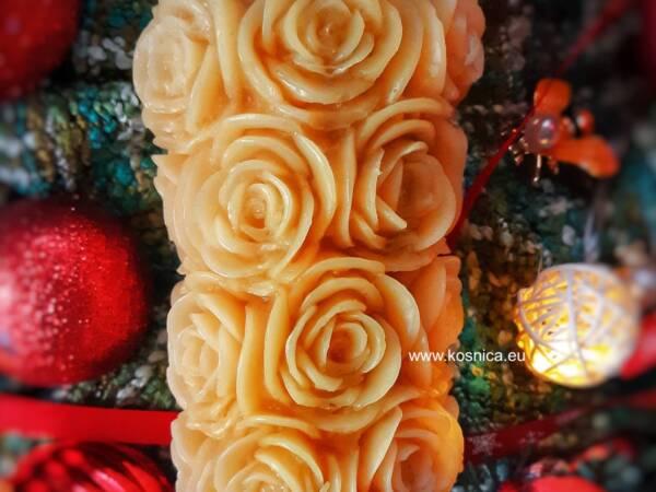 Svijeća od pčelinjeg voska je dar prirode za vjenčanje, kao poklon