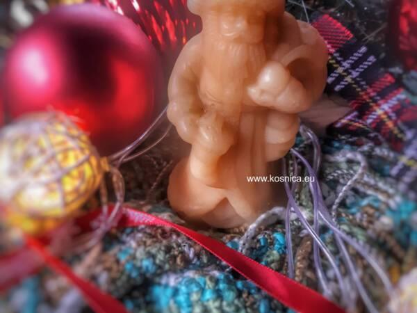 svijeća od pčelinjeg voska božić,advent