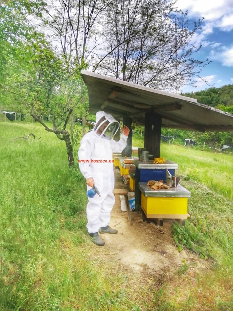Pčelarski troslojni kombinezon. Ventilirajuća prozračna odjeća.Košnica ventilirajuća prozračna zaštitina pčelarska odjeća