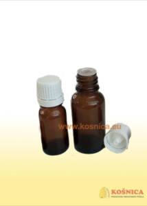 Staklena bočica za propolis 10 ml-20 ml u kompletu s čepom i kapaljkom