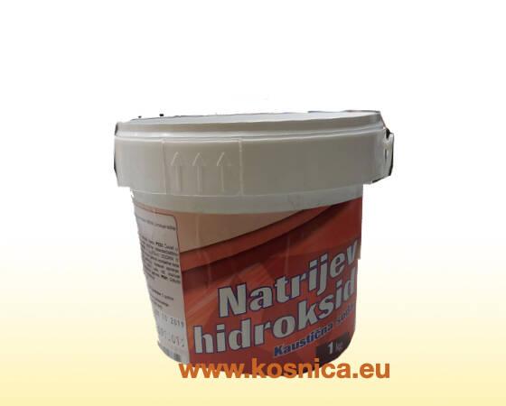 Kaustična soda (NaOH) se koristi u pčelarstvu za dezinfekciju.