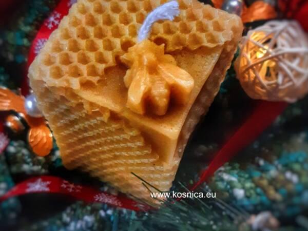 Svijeća od pčelinjeg voska je savršen poklon