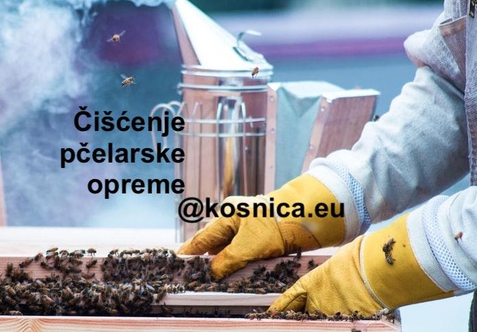 U osnove pčelarstva dolazi i tema čišćenja osnovne pčelarske opreme