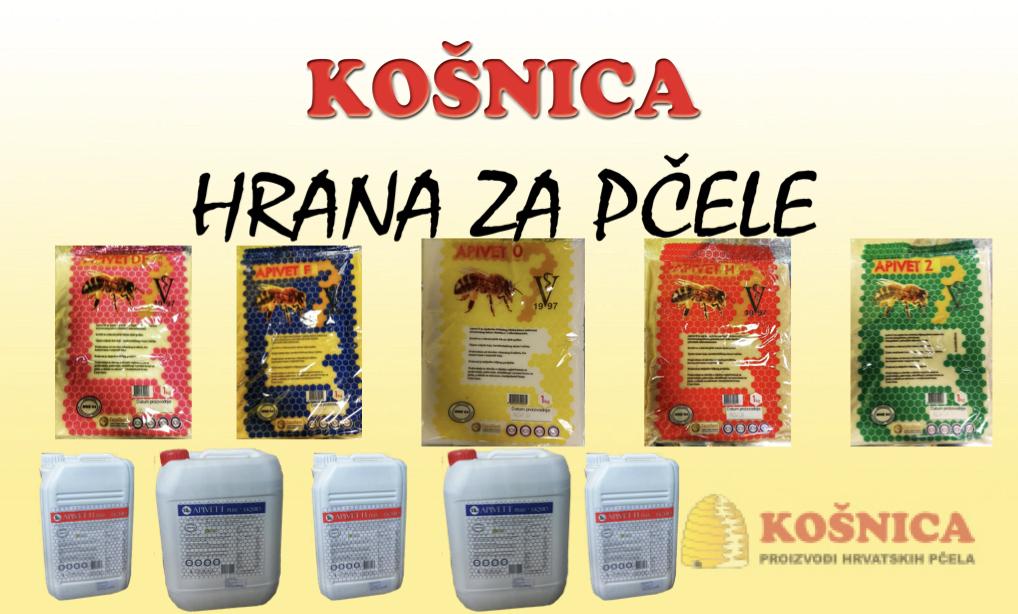 Hrana za pčele-pogače i tekučina