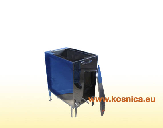 Parni topionik vosak služi za topljenje satne osnove s okvira